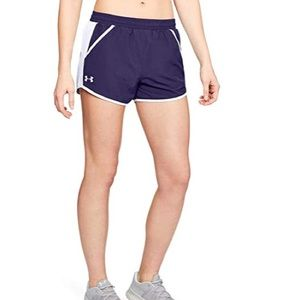 NWT Under Armour Running Active Shorts Purple